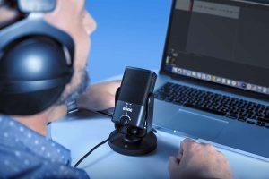 microphone USB sur un pc